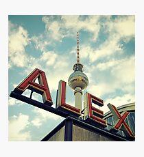 Alex Photographic Print