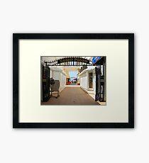 Sun Plaza, St. Maarten  Framed Print