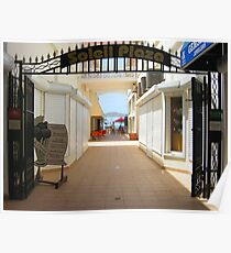 Sun Plaza, St. Maarten  Poster