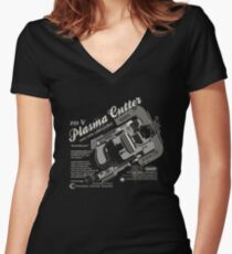 Dead Space - Plasma Cutter Women's Fitted V-Neck T-Shirt