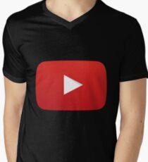 Youtube Logo V-Neck T-Shirt