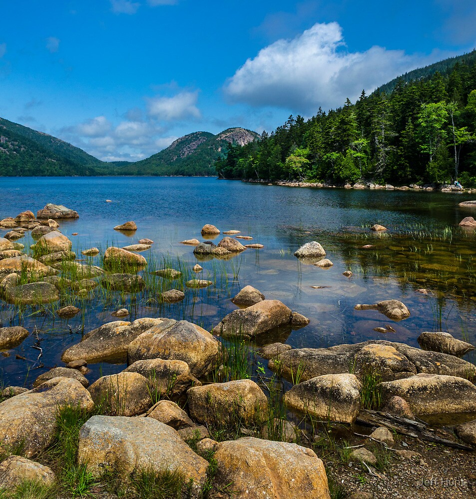 Jordan Pond by Jeff Hunt