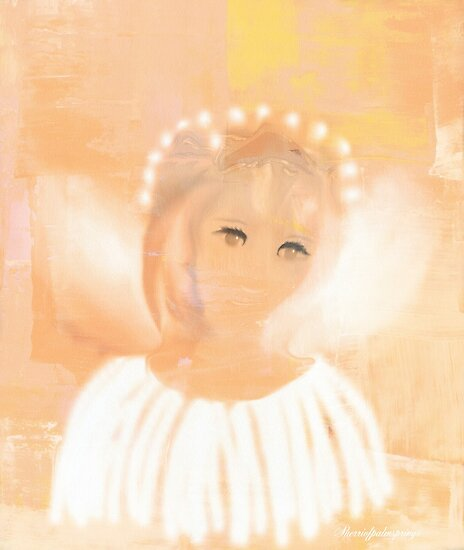 A PRECIOUS LITTLE ANGEL by Sherri Palm Springs  Nicholas