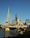 Two Winnipeg Landmarks by Stephen Thomas