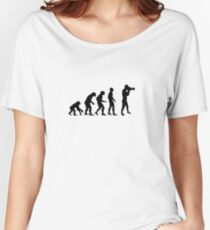 Photographer evolution Women's Relaxed Fit T-Shirt