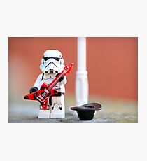 Busking Stomie Photographic Print