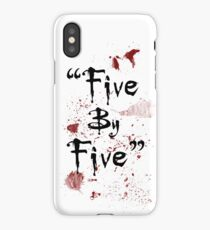 Five By Five iPhone Case