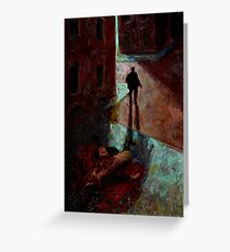 Altered, Mitre Square Murder Greeting Card