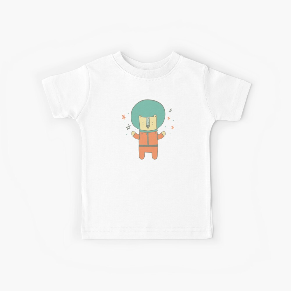 Bearly There in Dreamsickle  Kids T-Shirt