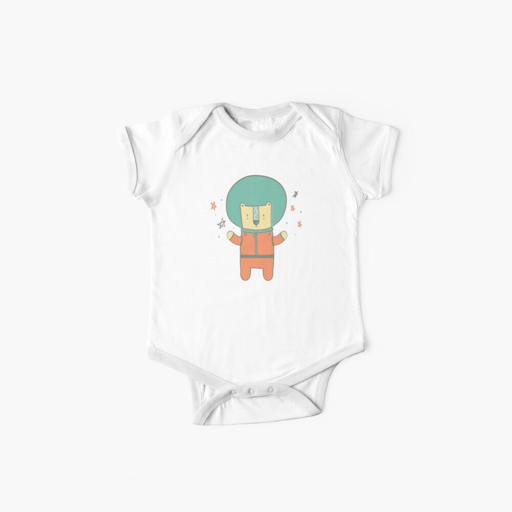 Bearly There in Dreamsickle  Baby One-Piece