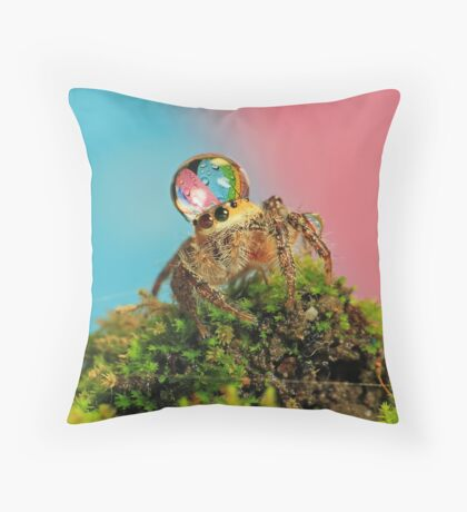 full colors Throw Pillow