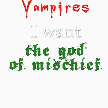 God of Mischief  by AlicePrewett