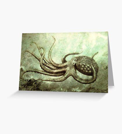 Octopus 2 Greeting Card