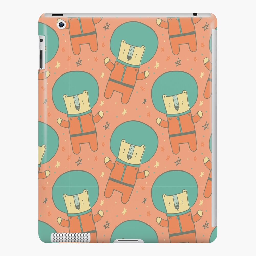 Bearly There in Dreamsickle  iPad Case & Skin