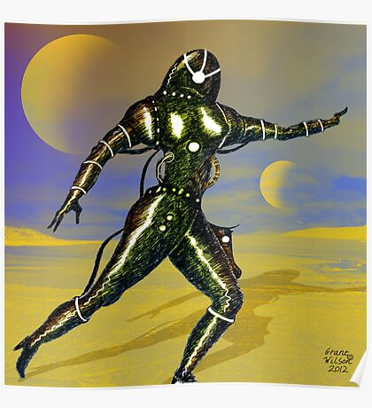 Galactic Desert Poster