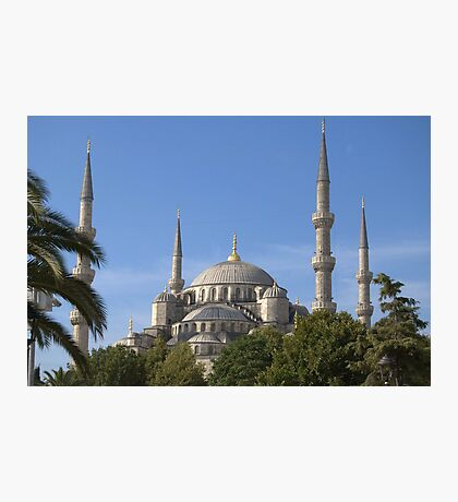 The Blue Mosque, Istanbul (External) Photographic Print
