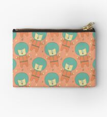 Bearly There in Dreamsickle  Zipper Pouch