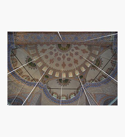 The Blue Mosque Istanbul (Internal) Photographic Print