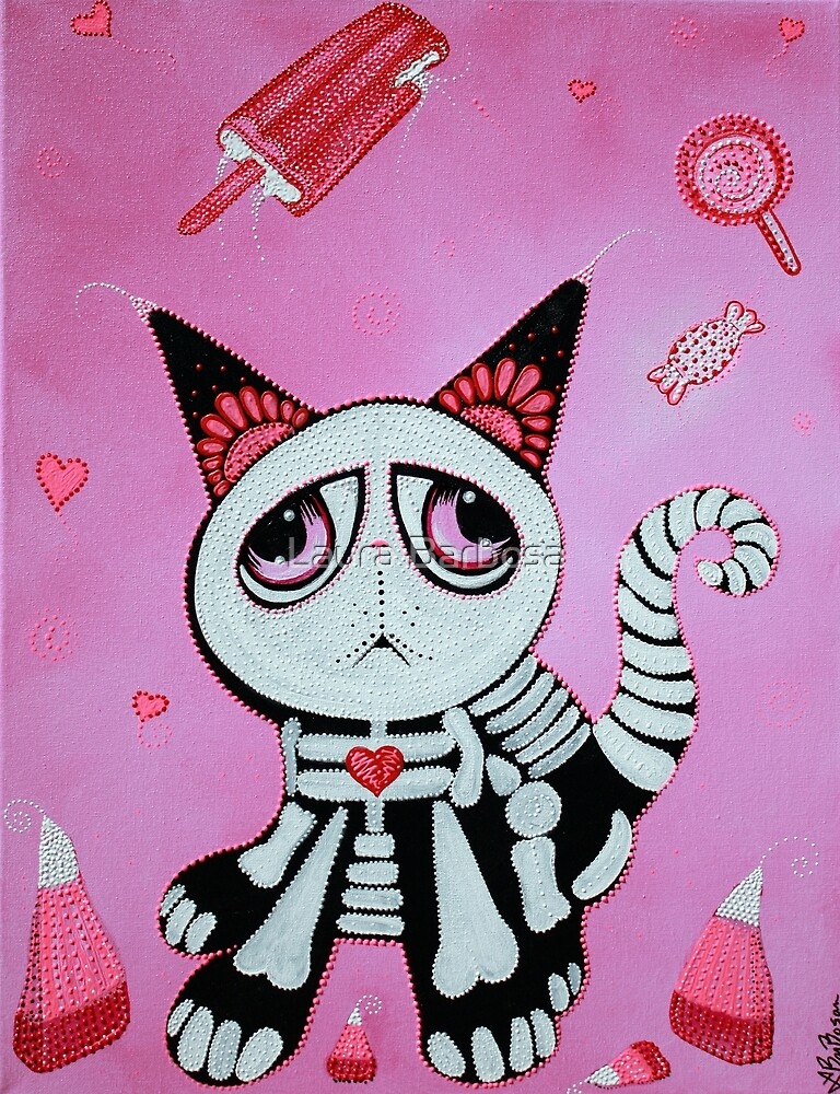 Kitty Cat Candy by Laura Barbosa