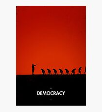 99 Steps of Progress - Democracy Photographic Print