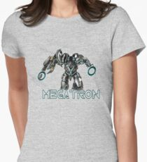 Megatron - Wordgame!! Women's Fitted T-Shirt