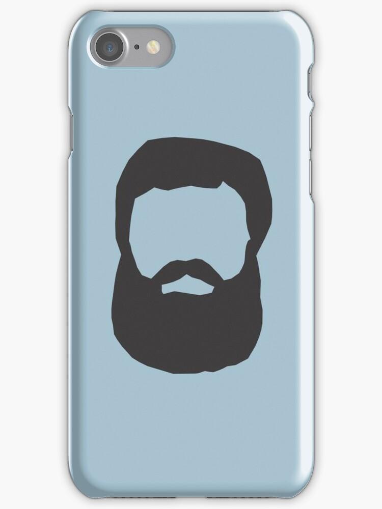 Real Men Have Beards (Black Beard) by CoolFRI
