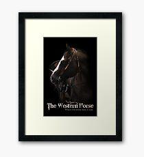 Western Horse Framed Print