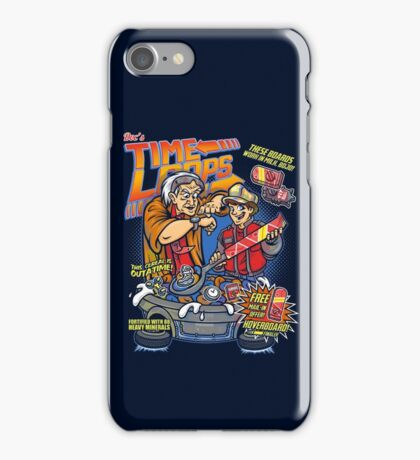 Time Loops iPhone Case/Skin