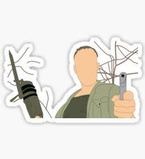 Merle Dixon Sticker