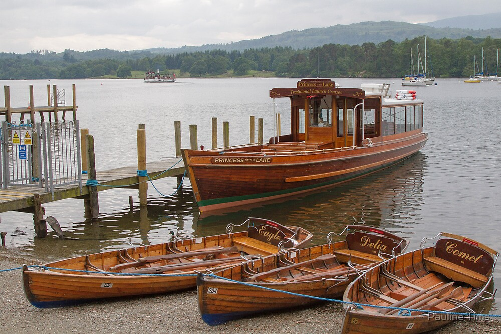 Princess of the Lake, Ambleside,Cumbria by Pauline Tims