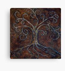 Tree of Life ( golden ) Canvas Print