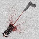 Blood Shot Zombie by Sean Burgess