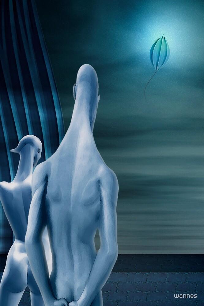The Beauty Of Feeling Blue by wannes