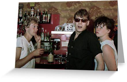 Dutch rockers in French bar by Esmé Lammers