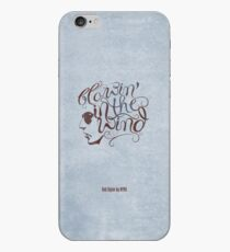 BOB DYLAN, BLOWIN' IN THE WIND iPhone Case