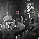 Time to Cowboy up & ride them Harleys at Desperados Cowboy Restaurant! by David Owens