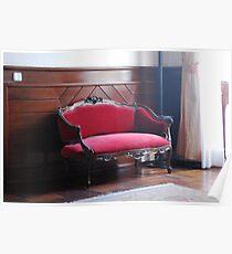 Cadeira Vermelha Poster