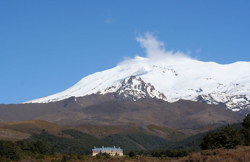 The Chateau, Mt Ruapehu, New Zealand by Richard Moore