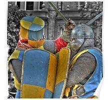 Medieval duel  Poster