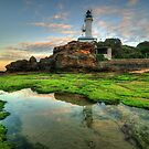 Point Lonsdale Lighthouse by Danielle  Miner