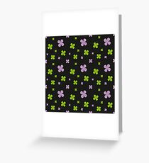 Shamrock Greeting Card