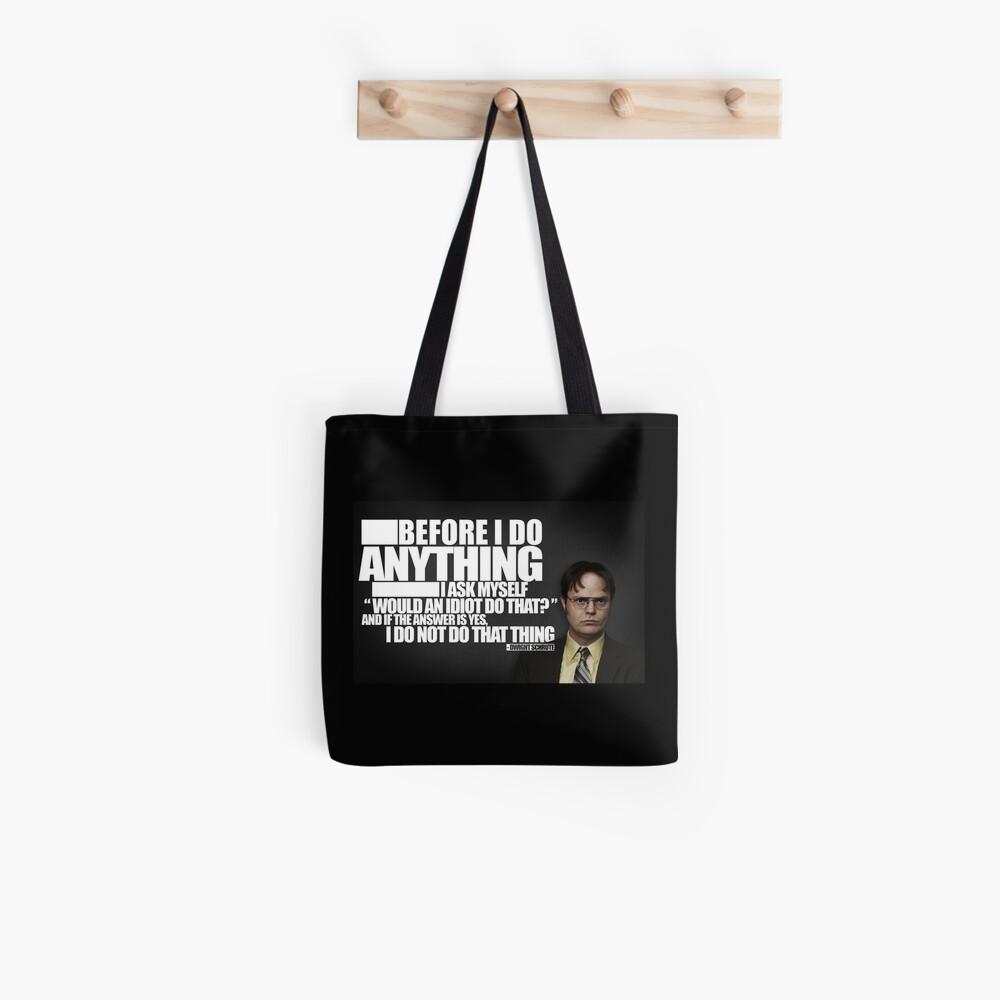 Bevor ich etwas tue Stofftasche