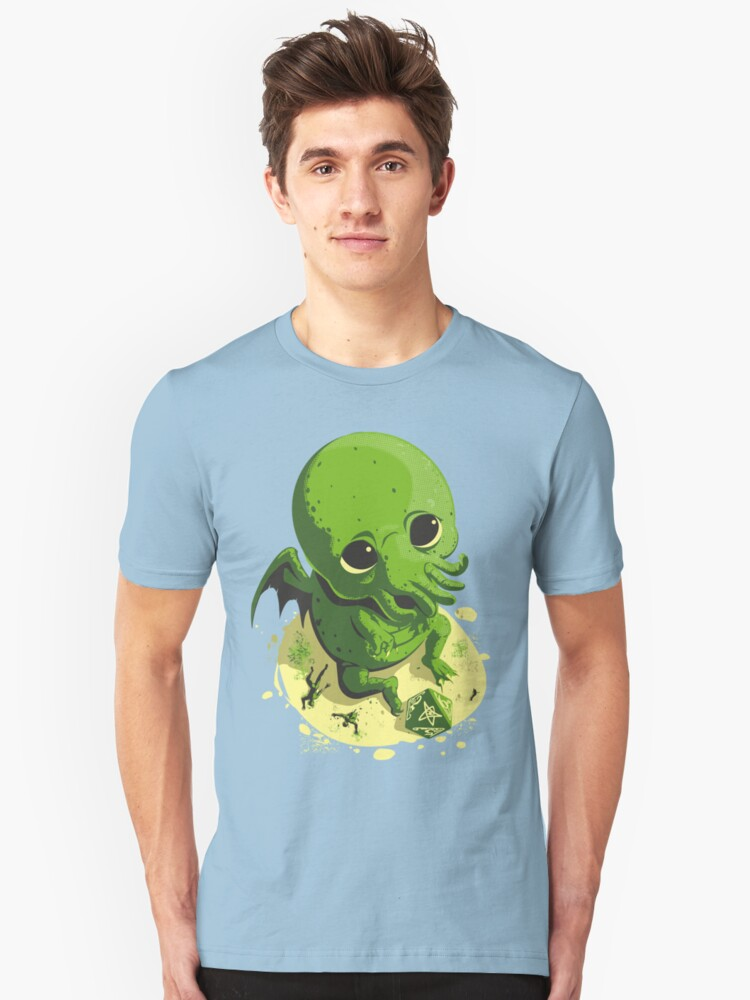 HE JUST WANTS TO PLAY Unisex T-Shirt Front