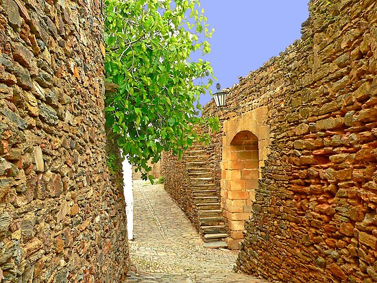 Castelo de Monsaraz. Castle by terezadelpilar ~ art & architecture