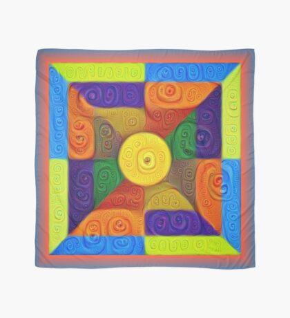 DeepDream Color Squares Visual Areas 5x5K v1447854295 Scarf
