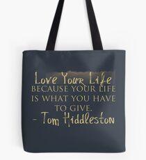 Bolsa de tela Love Your Life (#nephierb)