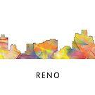 Reno, Nevada Skyline WB1 von Marlene Watson