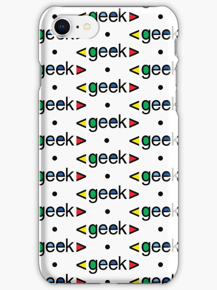 Geek Alert iphone 3G  4G  4s  by Andi Bird