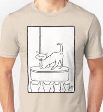Cat Stripper Fun Unisex T-Shirt