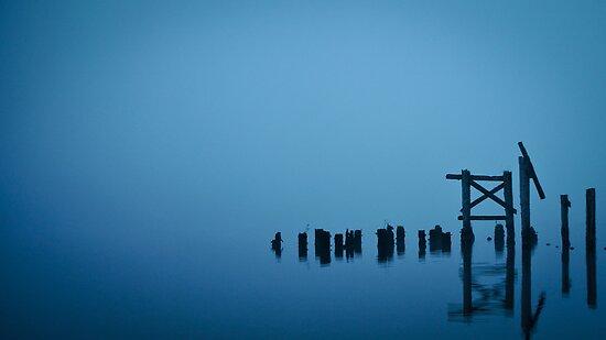 Misty Dawn at Loch Awe II by maekstar